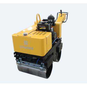 Fully hydraulic 0.8ton factory vibratory road roller