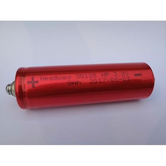Headway 38120hp rechargeable cylindrical battery