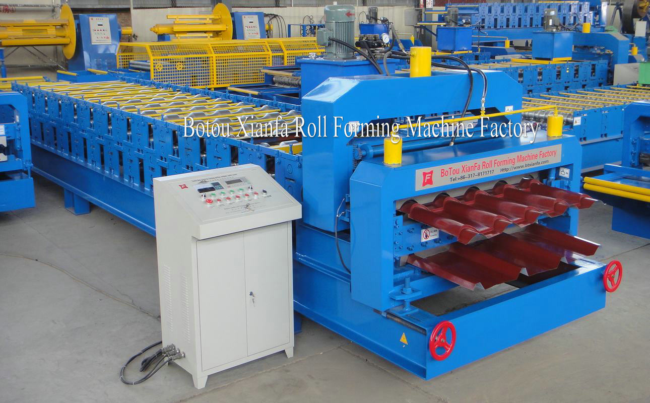 profile roll forming mahcine