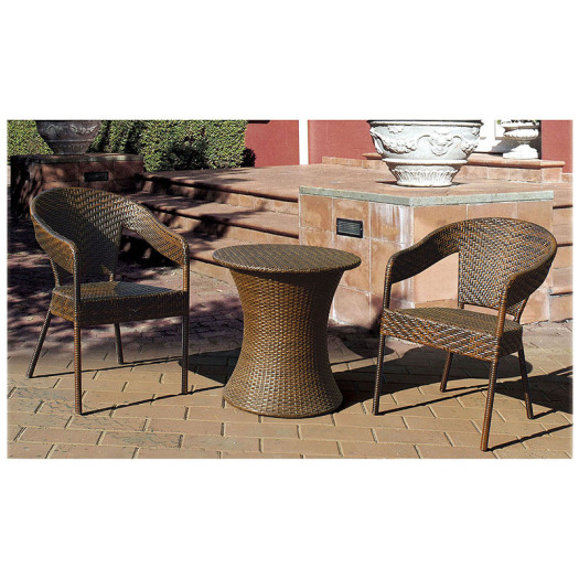 Rattan Furniture Bistro Dining Set for Balcony