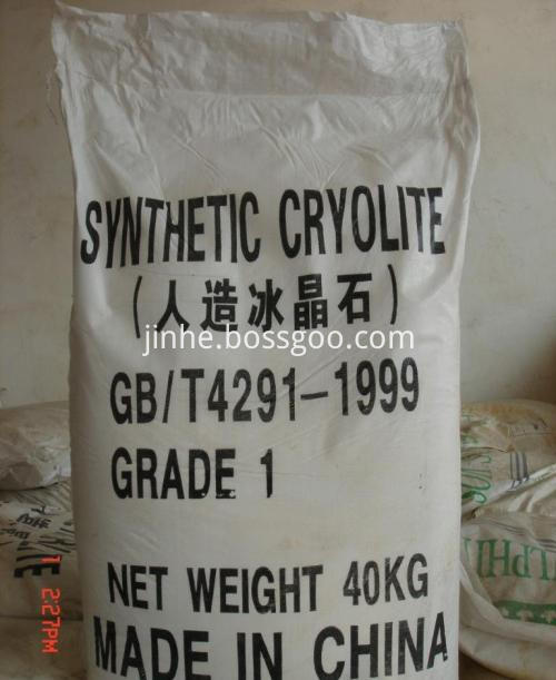 Cryolite For Ferroalloy / Rimming Steel Fusing Agent