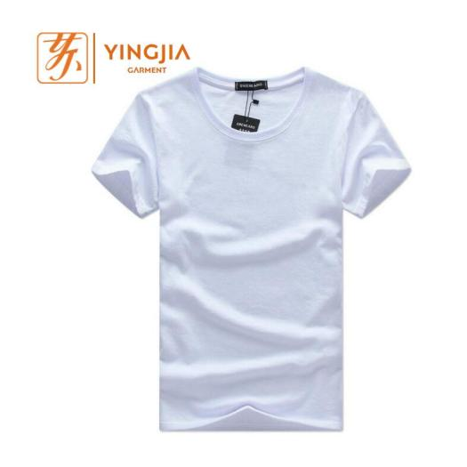 Hot Selling Custom Design Men Tshirt Plain Color