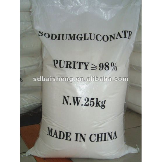 Chinese 99% Purity 25kg Sodium Gluconate