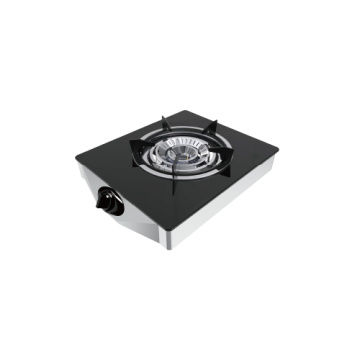 Single Burner Tempered Glass Cook Tops Gas Stove