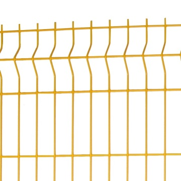 3d wire mesh fence Triangle Welded Bending Fence