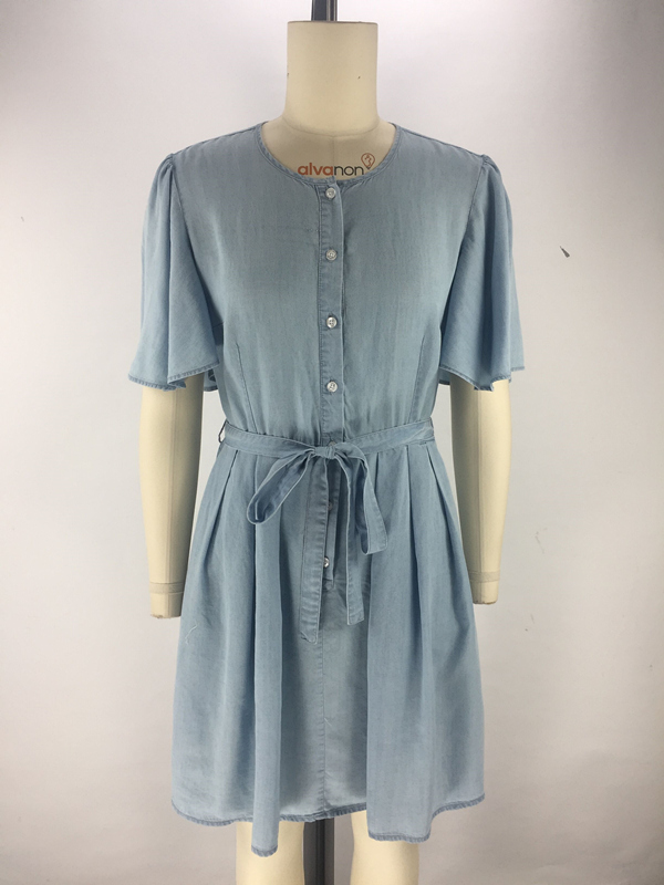 womens tencel denim dress