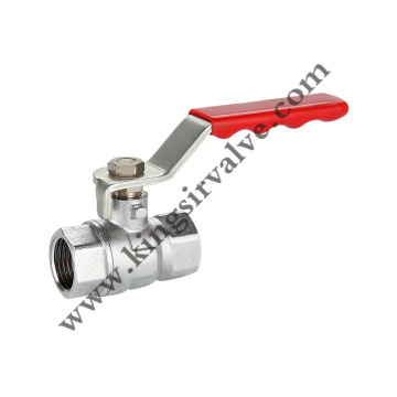 Skidproof handle ball valve