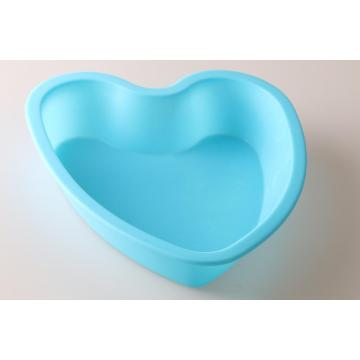 Heart shape silicone baking mold