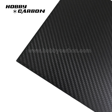 CNC Cutting Twill Matte Carbon Glass Sheets
