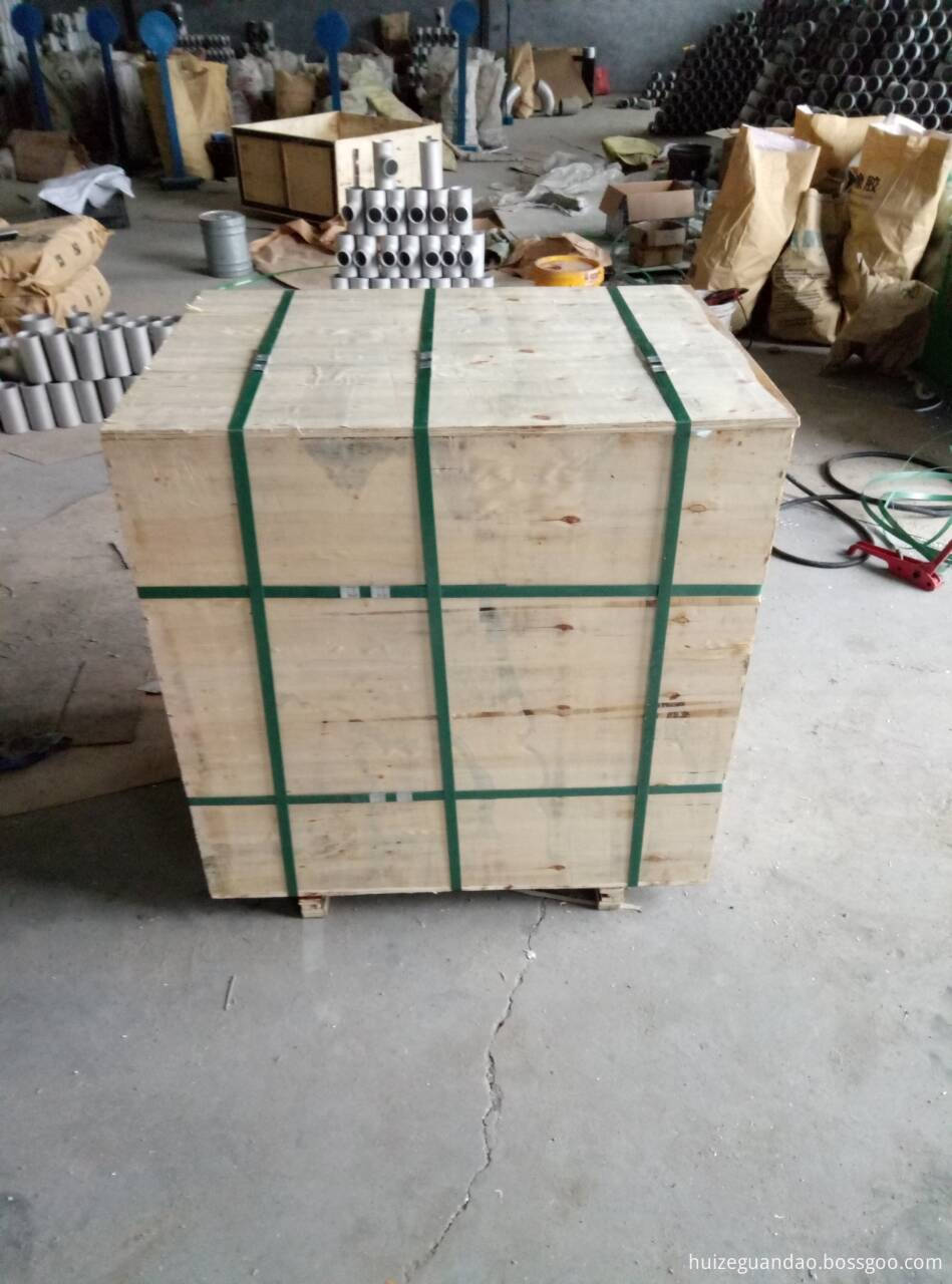 wooden case for slip on flange