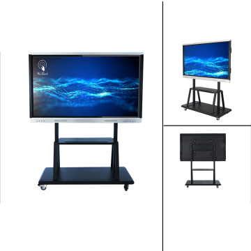 75 inches Education interactive panel with mobile stand