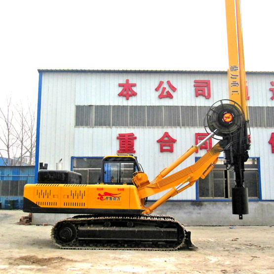 Crawler Bore Soil Well Drilling Rig Machine