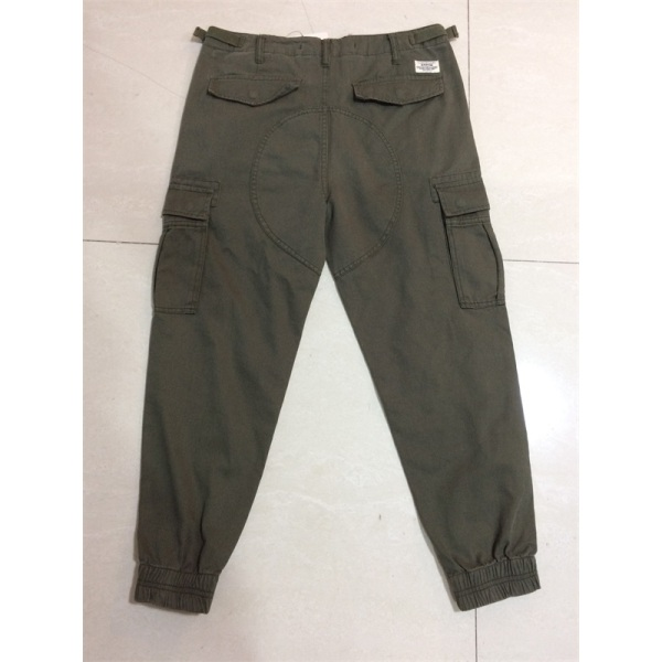 men's long cargo pant the bottom with elastic