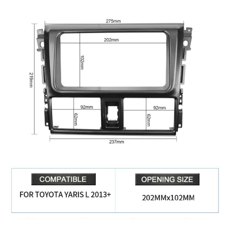 Frame For Yaris 2013