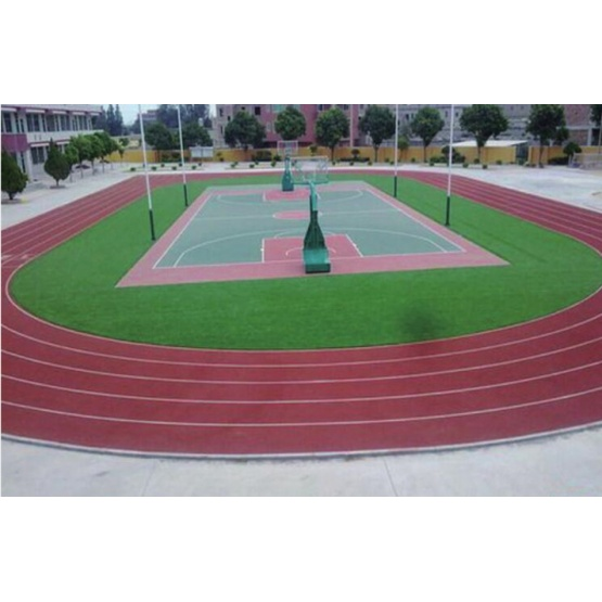 Eco-Friendly 3:1 Self-Aligned Pavement Materials   Courts Sports Surface Flooring Athletic Running Track