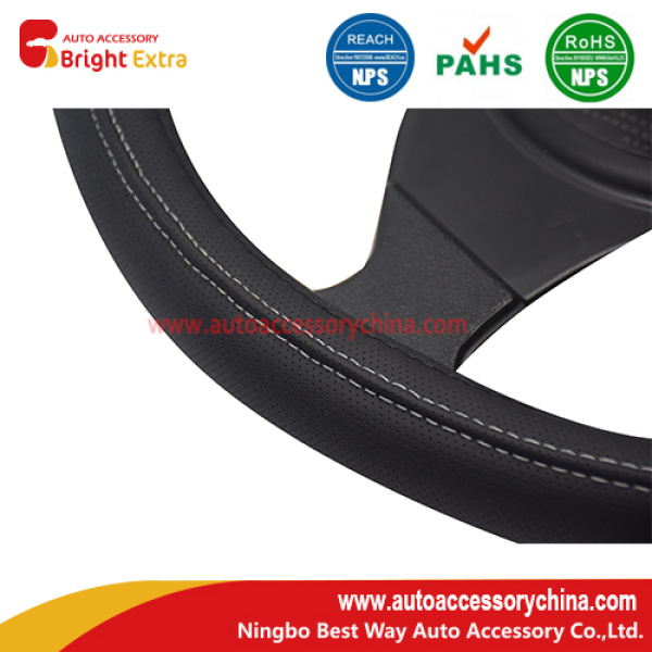 New Design Leather Steering Wheel Cover