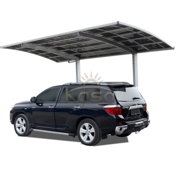 CarPorch Steel Garage Kit Pack Flat Roof Carport