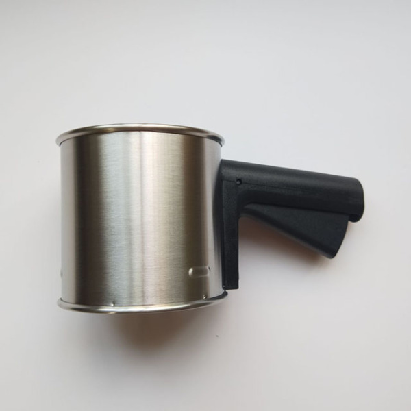 Stainless Steel Flour Sifter with plastic handle
