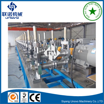installation C section unistrut channel roll forming machine
