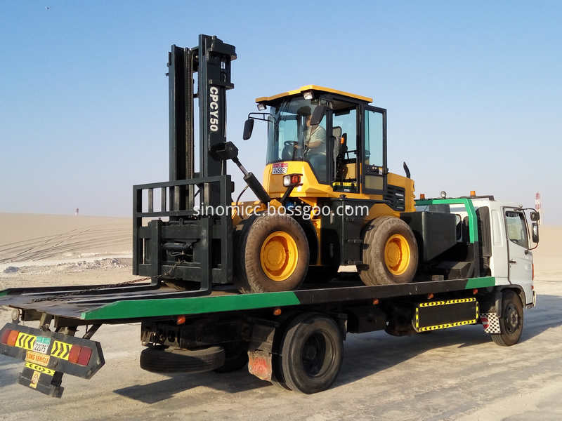 Off Road Forklift Cpcy 50