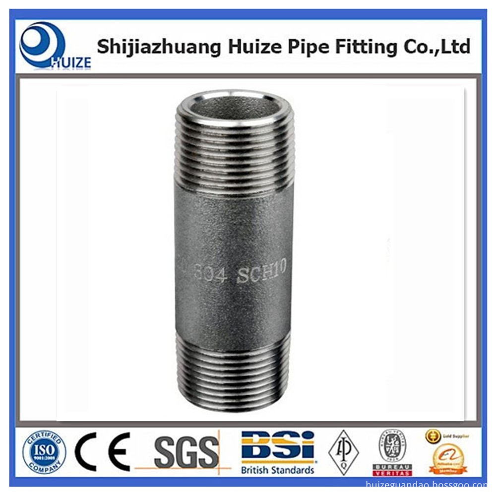 Pipe Nipple Threaded Both Ends