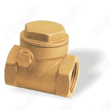 Forged Brass Swing Check Valve For CW617