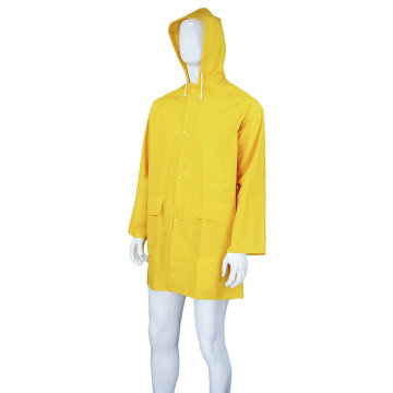 PVC Long Work Raincoat Gown
