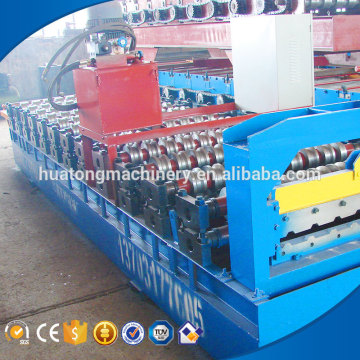 Color steel corrugated concrete roof tile making machine