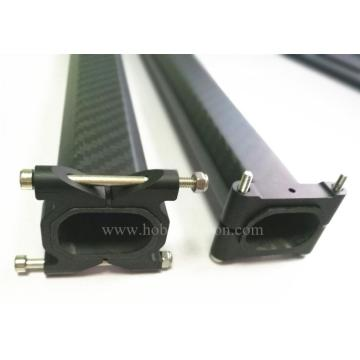 High quality cnc aluminum adjustable tube clamps
