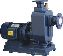ZWL type direct-coupled self-priming non-blocking sewage pump 2