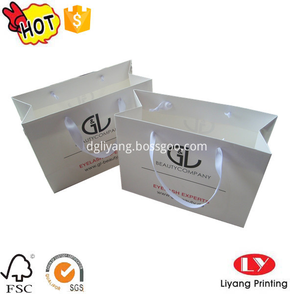 glossy paper bag
