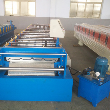 750 floor deck building roof panel roll forming machine