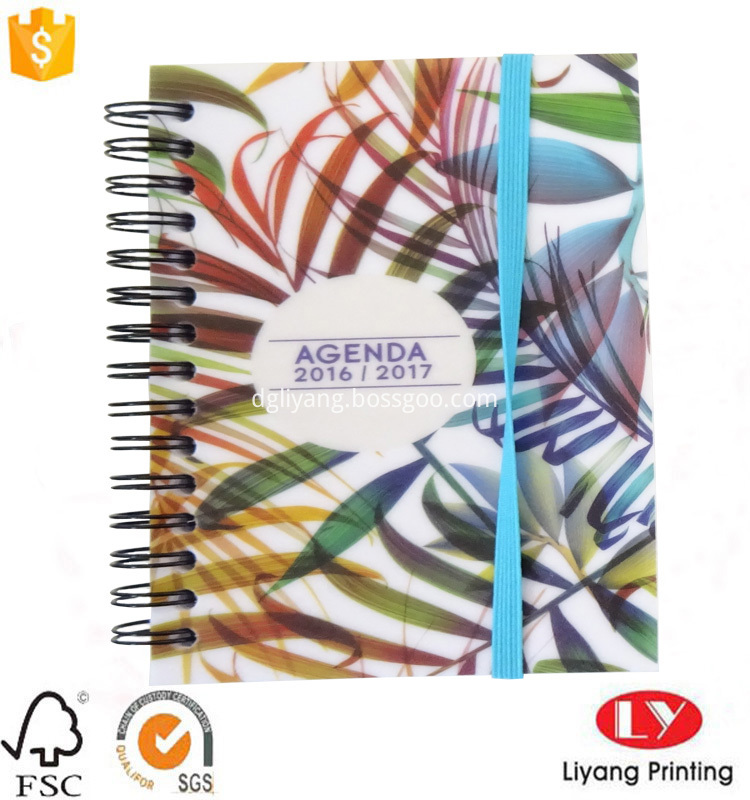 notebook with softcover