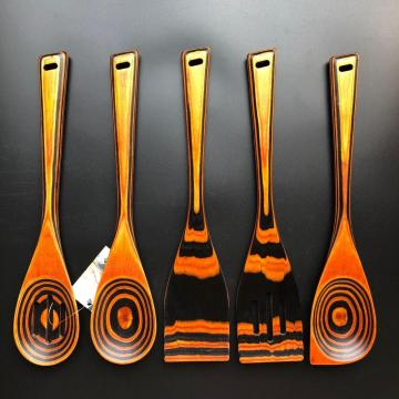Pakka wood kitchen cooking utensils