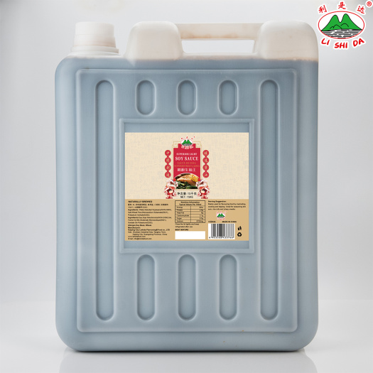 15kg Plastic Jar Light Soy Sauce