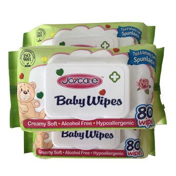 Biodegradable bamboo eco-friendly organic naturally sensitive skin baby wipes