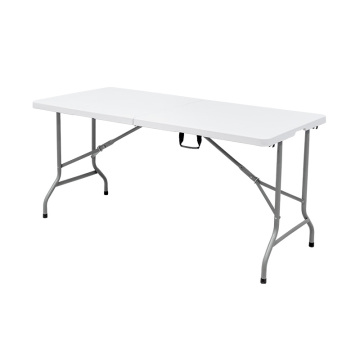 5ft Fold-In-Half Outdoor Folding Table Preferential Prices