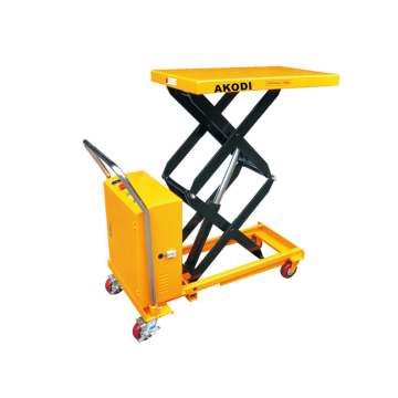 Electric Hydraulic Scissor Lift Table Trolley