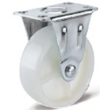 11 Series PP Flat Bottom Fixed Casters