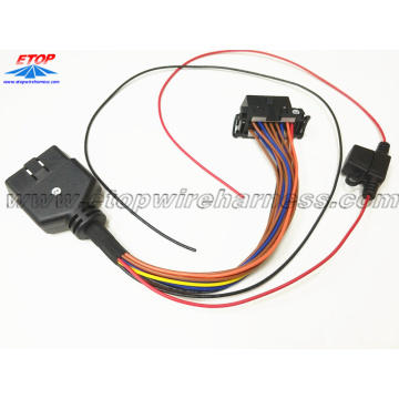 OBD female to male cable
