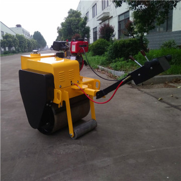 Mechanical vibratory singal drum road roller