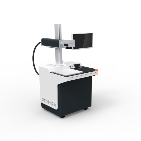 Steel laser engravig machine