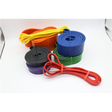 Latex resistance band exercise use rubber band roll