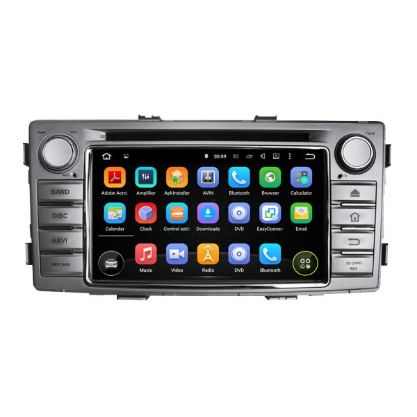 TOYOTA Car Audio DVD Player For Hilux 2012