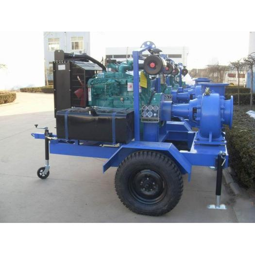 Horizontal Multistage Diesel Engine Water Pump Set