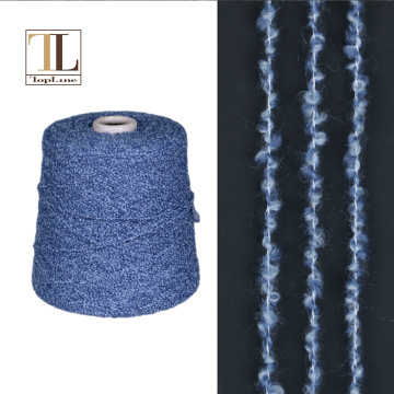 Consinee luxury 80% cashmere 20%nylon fancy boucle yarn