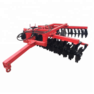 Symmetrical heavy duty disc harrow