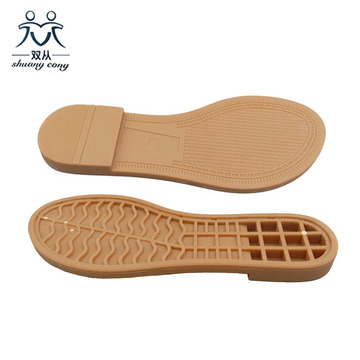 TPR  Soles Design For Ladies Casual Shoes