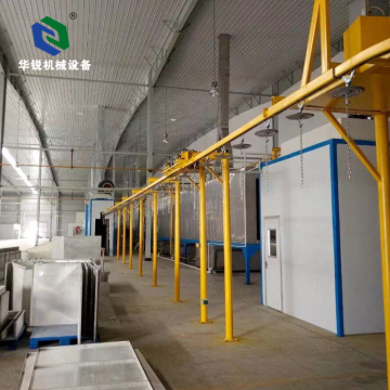 Automatic Efficient Electrostatic Aluminum Powder Coating Line