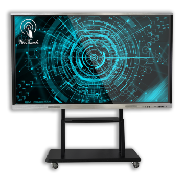 86 inches  interactive display with mobile stand